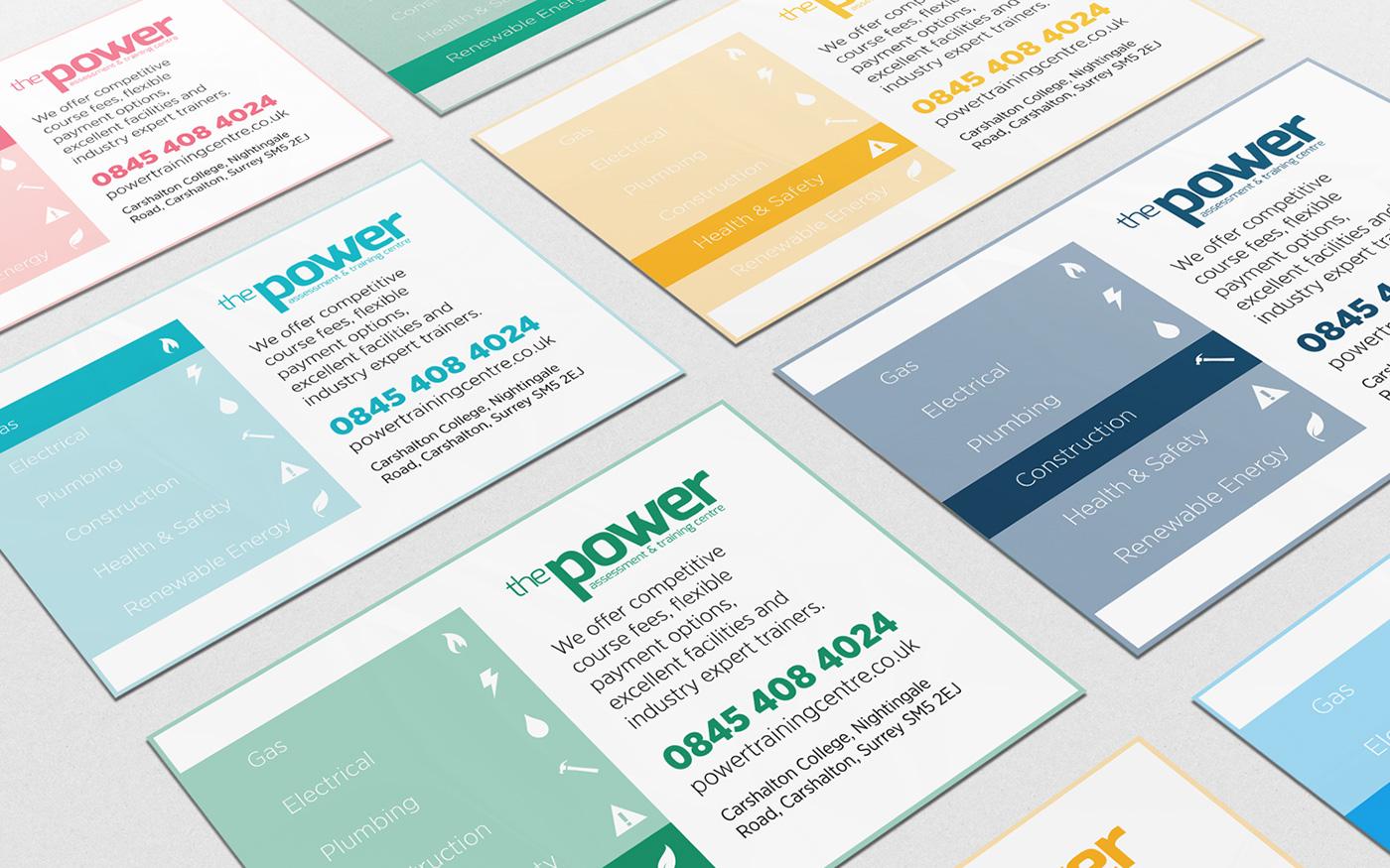 The Power Centre Course Card