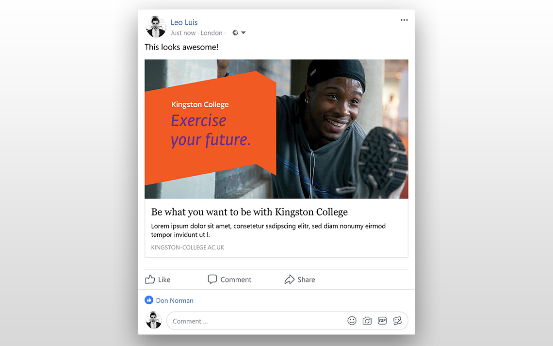 Kingston College Social Posts - Sport