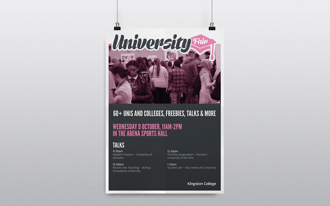 Kingston College Undergraduate Poster 1